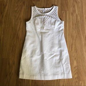 NWT Lilly Pulitzer Vandalia Shift Dress white 14